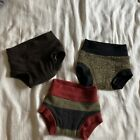 cooper rose wool diaper coverals - Lot Of 3 - Size Medium