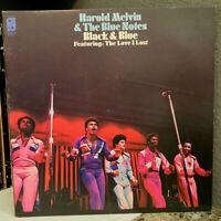 "HAROLD MELVIN & THE BLUE NOTES - Black & Blue (KZ32407) 12"" Vinyl Record LP - VG"