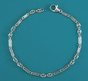 Armband, Armkette, Fantasie-Design,   21,5 cm  in Sterling-Silber (925/ooo)