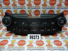 14 2014 15 2015 CHEVROLET MALIBU AM/FM RADIO CONTROL PANEL CD PLAYER USB OEM