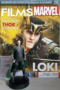 MARVEL MOVIE COLLECTION #70 Loki Figurine (Thor: Ragnarok) Figurine EAGLEMOSS fr