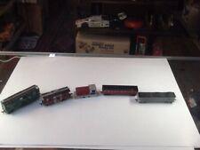 Vintage Marx Ho Scale Train Cars Lot
