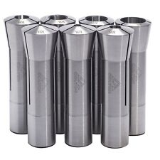Colton Industrial Tools 7 Piece Ultra Precision R8 Round Collet Set 00005 Tir
