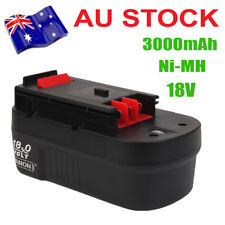 18V 3000MAH Ni-MH Replace Battery FOR Black & Decker HPB18 HPB18-OPE A1718 A18