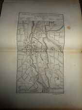61 - CARTE MAP PLANS Campagne ITALIE 1745 & 1746 CAZAL PUSTERLENGO  1775