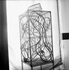 Arts Décoratifs c. 1960 - André Bloc Cage à Oiseaux Négatif 6 x 6 - A 1