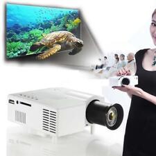 Mini Home Cinema Theater 1080P HD Multimedia USB LED Projector AV TV VGA HDMI KS
