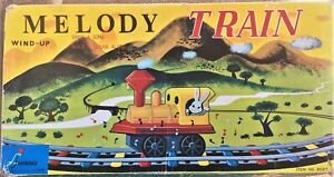 Vintage Melody Train 1960s Wind Up, Sing A Song. Made in Japan