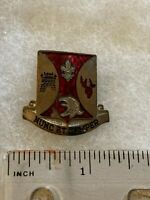 Authentic US Army 196th Infantry Regiment Unit DI DUI Crest Insignia GEMSCO