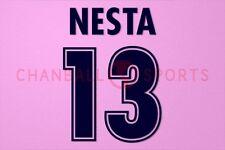 Nesta #13 1998-2002 Lazio Homekit Nameset Printing