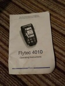 Flytec 4010  Operating Instructions Manual Only Paragliding Variometer Swiss