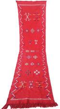 "Handmade Kilim Runner Rug 8'9"" x 2'1"" Moroccan kilim rug Beni Ourain rug vintage"