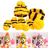Pet Dog Hat Scarf Socks Set Cute Keep Warm Stripe Knitted Costume For Winter Par