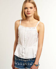 Womens Superdry Tops Selection. Various Styles and Colours AJ - Ditsy Optic White S
