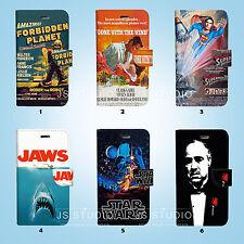 Movie Poster Flip Wallet Case Cover for Sony Xperia Z2 Z3 Z5 LG G5 068