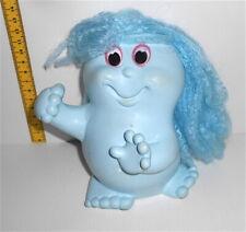 SNUGGLEBUMMS  80s ko rubber puppet doll blue - pupazzo gomma azzurro