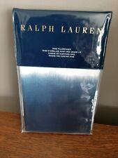 NIP Ralph Lauren St JEAN LEANNA Blue KING Pillowcases