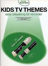 Junior Guest Spot: Kids TV Themes - Easy Playalong (Recorder)