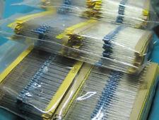 1280pcs Metal Film Resistors Assortment Kit Set 64 Values (1-10M ohm) 1/4W UK