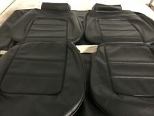 Monaro HQ GTS Sedan Seat Covers Front And Rear In Black Long Grain,aussie Made