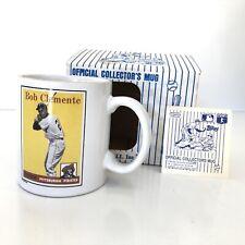 "Rare Roberto ""Bob� Clemente Topps Official Collectors Mug #77/86 Mlb Sports"