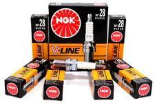 6x Original V-Line NEU NGK Zündkerzen BKR6E 4856 Nickel-Mittelelektrode
