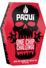 Paqui One Chip Challenge 2020 World's Hottest Carolina Reaper Tortilla Chip UK