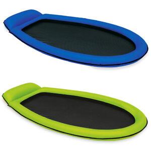 INTEX Mesh Lounge 178x94cm Wasserliege Luftmatratze Ring mit Netzeinsatz