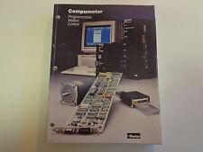Parker Hannifin Compumotor Programmable Motion Control Catalog 1988