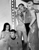 8x10 Print William Shatner Leonard Nimoy Star Trek Mudd's Women #STR