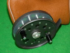 Strike Right Ultraflo vintage alloy Centrepin reel to use or collect conditio...