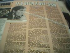 book article / picture - 1978 - football howard kendall - article 1 page