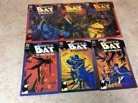 BATMAN SHADOW OF THE BAT #7,8,9,10,11,12 LOT OF 6 NM COMIC 1992-1993 DC