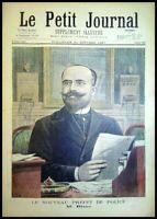 Le Petit Journal N°363 du 31/10/1897 Le nouveau Préfet de police Mr Blanc