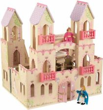 "Kidkraft PRINCESS CASTLE WITH FURNITURE Dollhouse for 5"" Dolls BN"