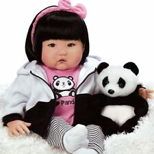 "Lifelike Realistic Asian Newborn Weighted Baby Girls Doll ""Bamboo"" Alive Reborn"