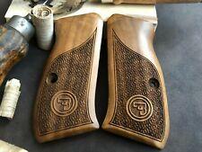 CZ 75 Compact Turkish Walnut Grips - Handmade - AAA Quality