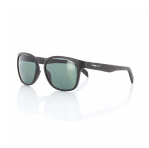 Tag Heuer TH0582 301 Black Sunglasses Grey Mirrored Lens Size 54