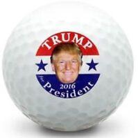1 Dozen (Donald Trump 2016 LOGO) Noodle Mix Golf Balls