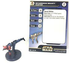 Star Wars Clone Strike 51/60 Devaronian Bounty Hunter (C) Miniature