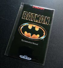 Batman the Video Game🔥 Sega Genesis Manual Instruction Booklet 🔥 NM Excellent