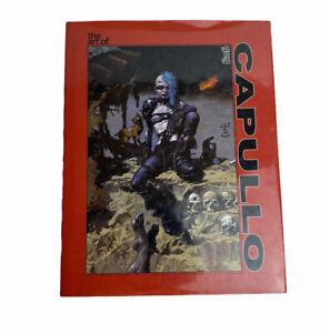 The Art Of Greg Capullo Hard Cover Rare Image Comics Art