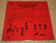 California State University Fullerton Choir Orchestra Christmas Concert 1972~NM