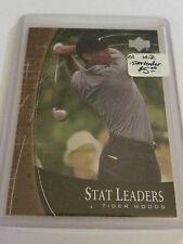 2001 Upper Deck Stat Leaders #SL2 Tiger Woods