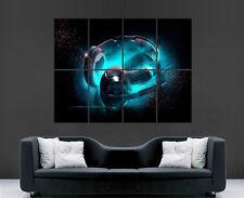 FANTASY HEADPHONES DJ MUSIC  GIANT ART PRINT POSTER PICTURE