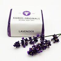 Lavender Essential Oil Handmade Natural Vegan Soap Bar - Kairos Originals