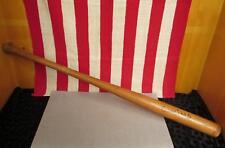 "Vintage Wilson Wood early Baseball Bat Antique 33"" Great Display Memorabilia!"