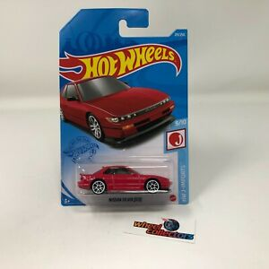 Nissan Silvia S13 #213 * RED * 2021 Hot Wheels Case M * G51