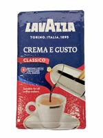 Lavazza Crema e Gusto Classico Ground Espresso Blend Dark Roast 8.8oz
