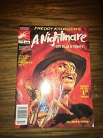 Freddy Krueger's A Nightmare on Elm Street #1 (Oct 1989, Marvel)